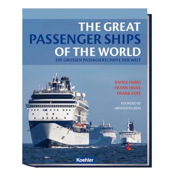 fiebig heine lose die großen passagierschiffe der welt kludas kreuzfahrtschiff fähre