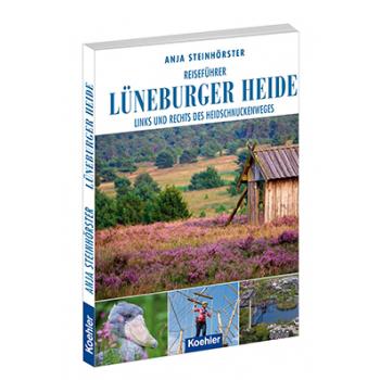 Anja Steinhörster Reiseführer Lüneburger Heide Heidschnuckenweg