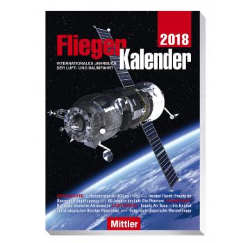 FliegerKalender, 2018, Internationales Jahrbuch der Raumfahrt, Luftfahrt, Peter Pletschacher