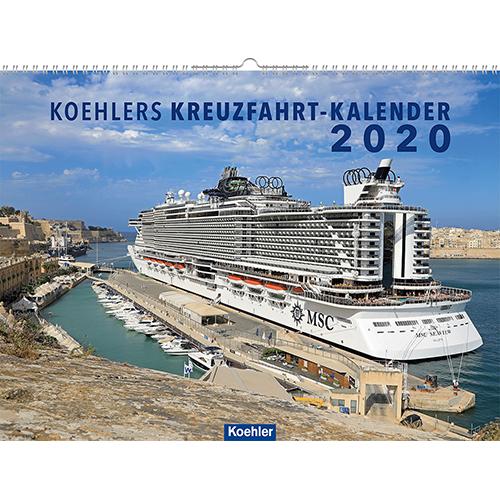 Asmussen koehlers Kreuzfahrtkalender 2020