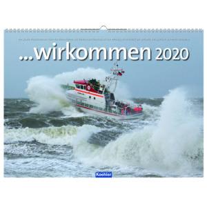 Peter Neumann Wir kommen DGzRS 2020 Wandkalender