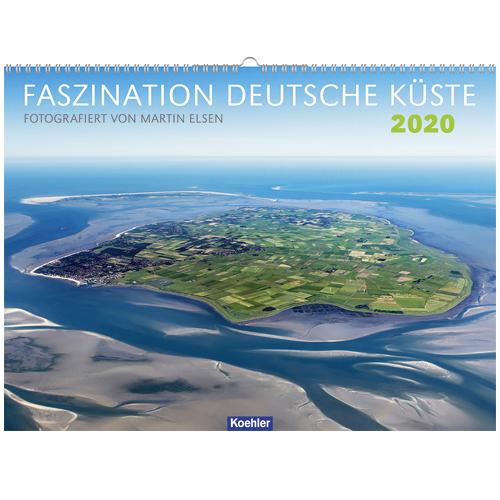 Martin Elsen Faszination Deutsche Küste 2020 Kalender