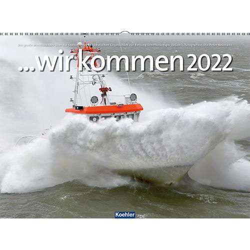 DGzRS-Wandkalender: wir kommen 2022