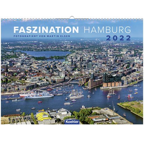 Wandkalender Faszination Hamburg